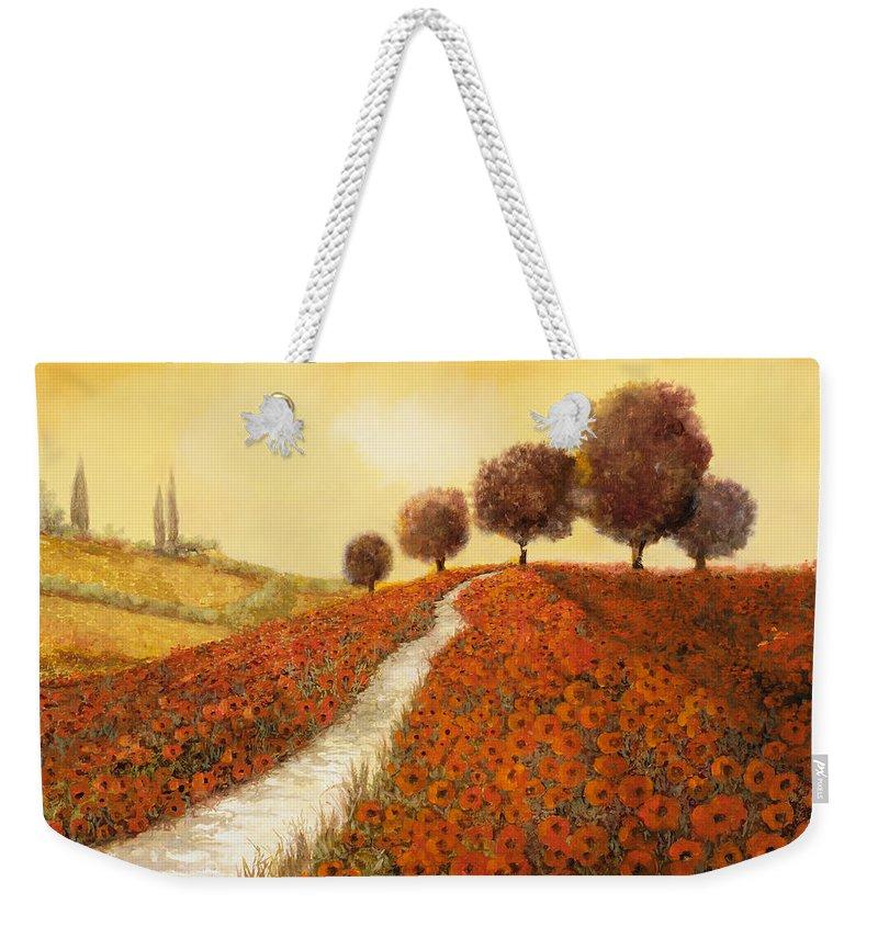 Landscape Weekender Tote Bags