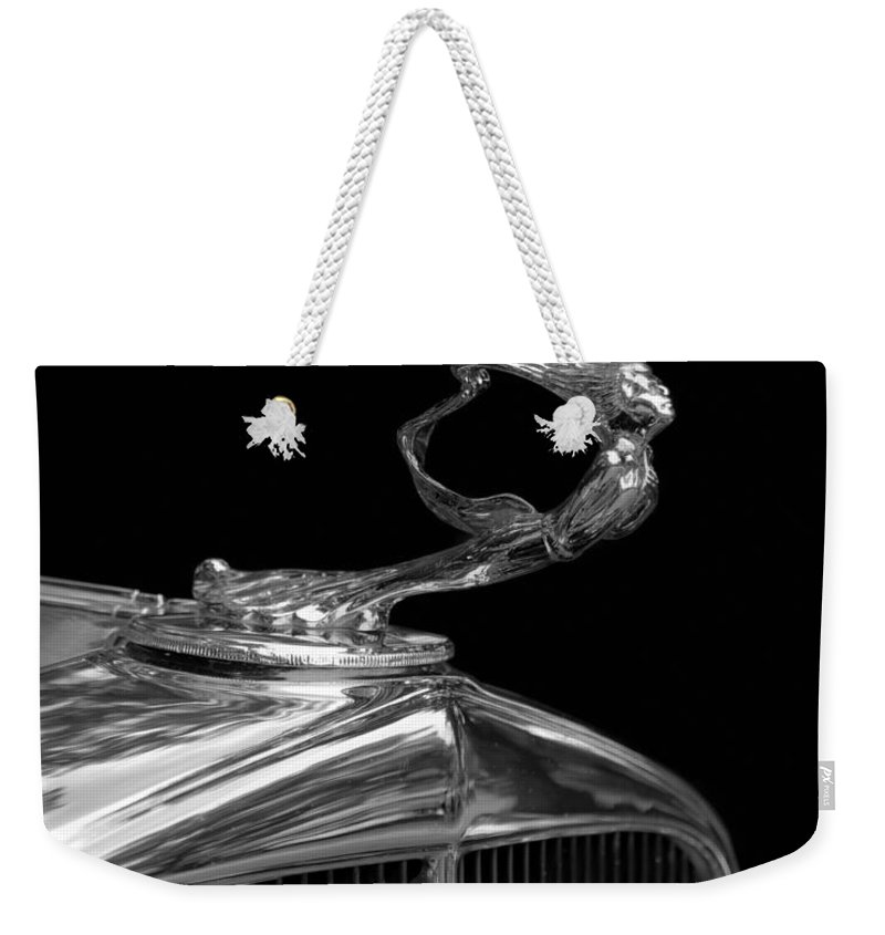 La Gioconda Weekender Tote Bag featuring the photograph La Gioconda by Susan Rissi Tregoning