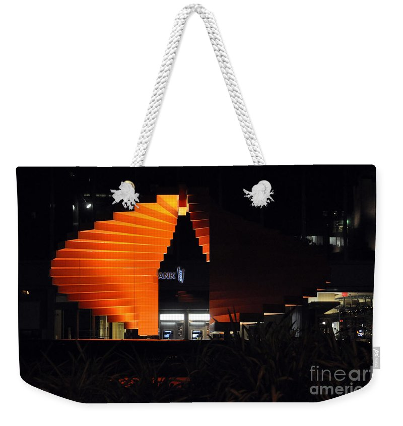 Clay Weekender Tote Bag featuring the photograph L.a. Nights by Clayton Bruster