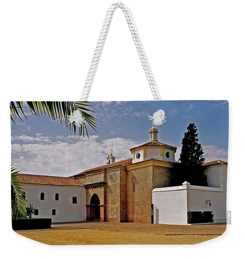 Europe Weekender Tote Bag featuring the photograph La Rabida Monastery - Huelva by Juergen Weiss