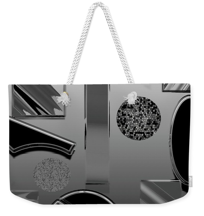 Biology Weekender Tote Bag featuring the digital art Lab Class by Betsy Knapp