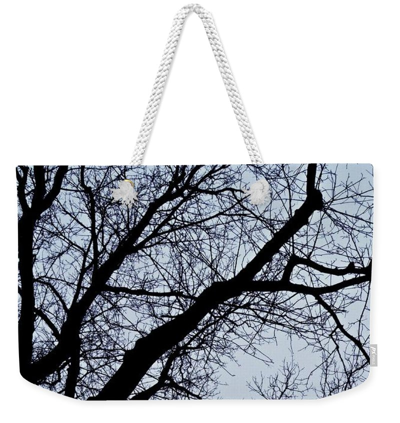Tree Weekender Tote Bag featuring the photograph Lace by Sarah Loft