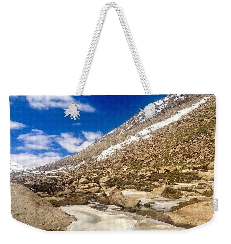 Ladakh Weekender Tote Bag featuring the photograph Ladakh by Vartika Singh