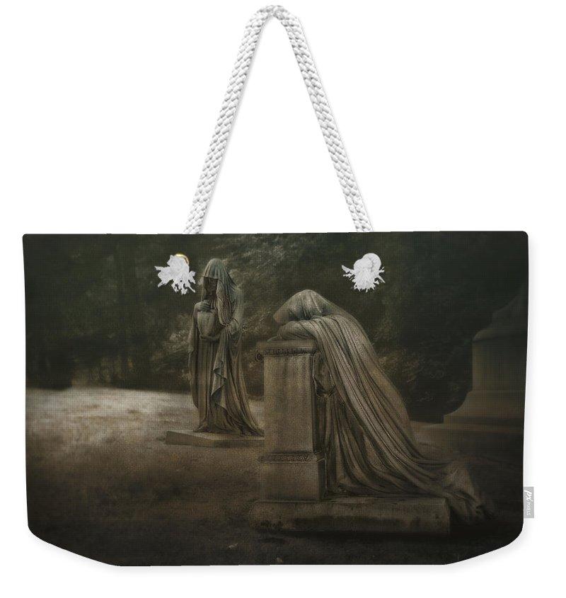 Sorrow Weekender Tote Bags