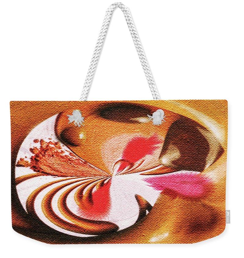 Paula Ayers Weekender Tote Bag featuring the digital art Lady Godiva by Paula Ayers