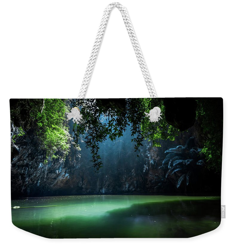 Lagoon Weekender Tote Bag featuring the photograph Lagoon by Nicklas Gustafsson