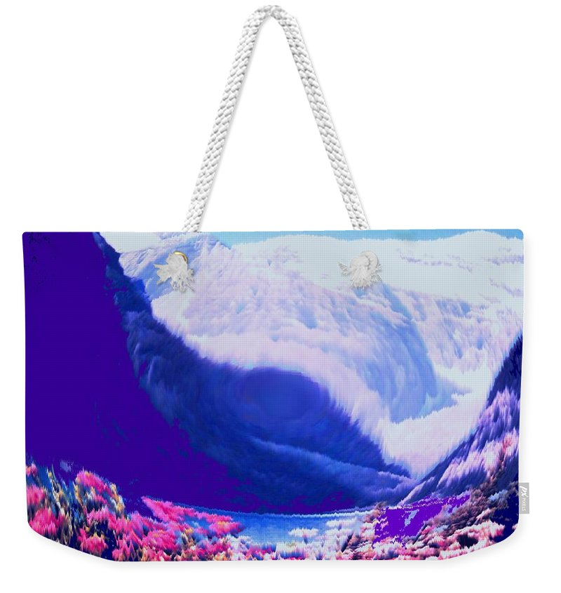 Lake Louise Weekender Tote Bag featuring the photograph Lake Louise by Ian MacDonald