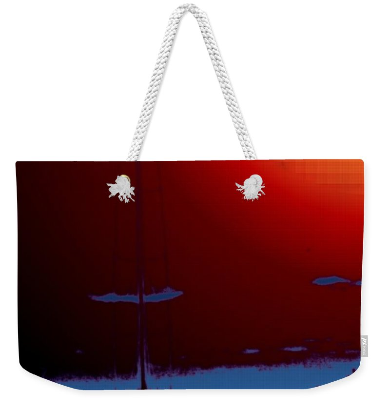 Seattle Weekender Tote Bag featuring the photograph Lake Union Moorage by Tim Allen