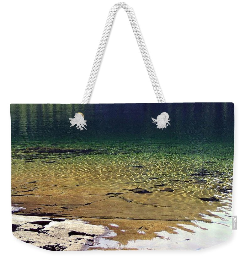 Vancouver B.c. Weekender Tote Bag featuring the photograph Lake Washington by Robert Meanor