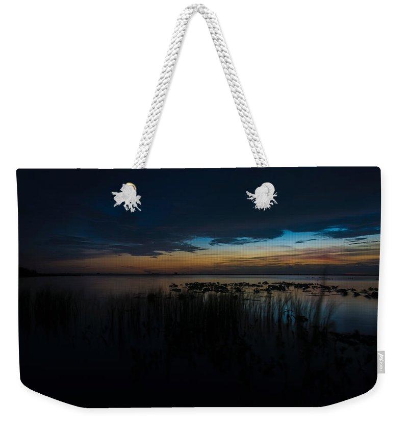Lake Weekender Tote Bag featuring the photograph Lake Washington by Tyler Miller
