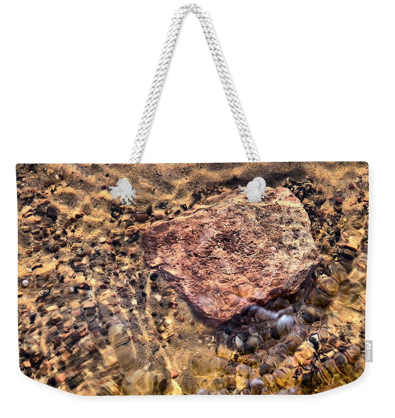 Haukkajärvi Weekender Tote Bag featuring the photograph Lakescapes 4 by Jouko Lehto