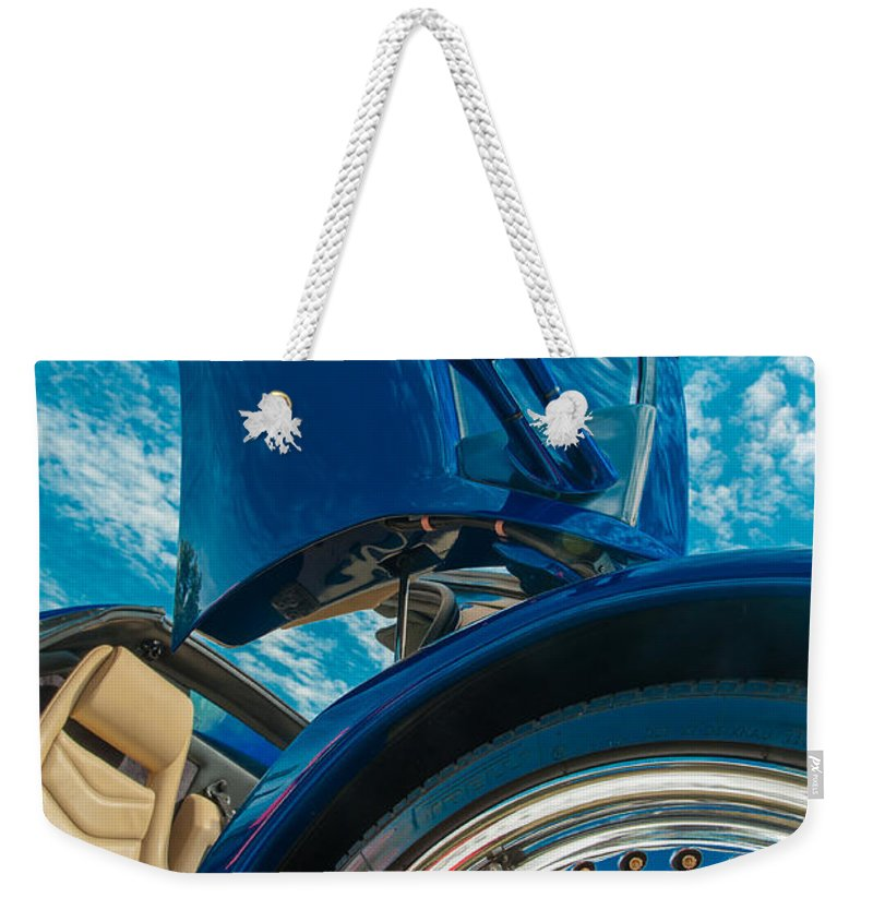 George Buxbaum Weekender Tote Bag featuring the photograph Lamborghini Diablo by George Buxbaum