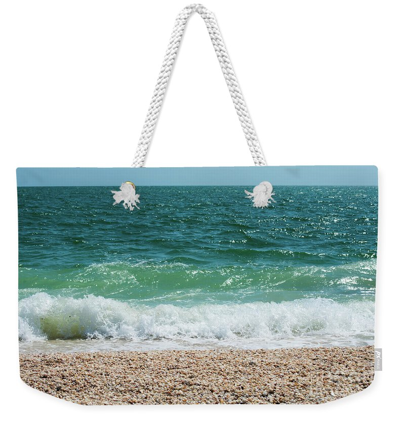 Shells Weekender Tote Bag featuring the photograph Lamination by Terri Winkler