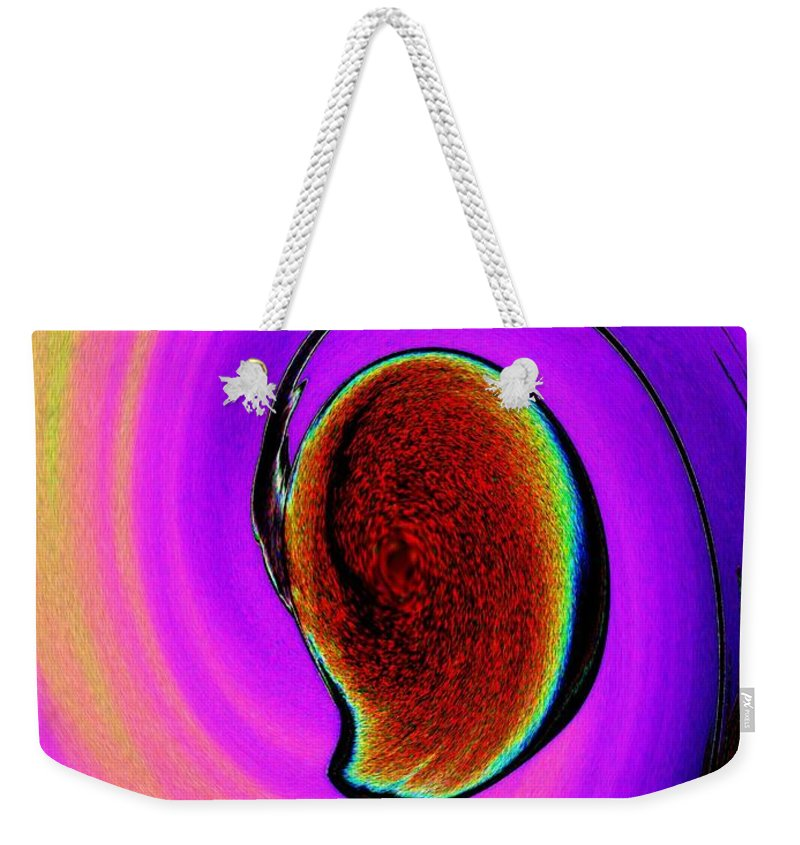 Lamp Weekender Tote Bag featuring the photograph Lamp 2 by Tim Allen
