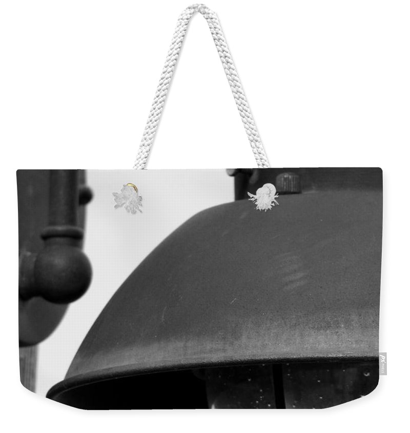 Lamppost Weekender Tote Bag featuring the photograph Lamp Post by Amanda Barcon