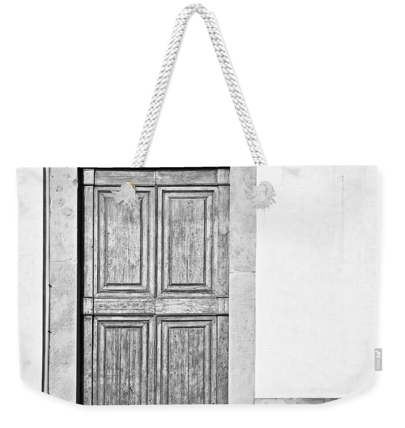 Door Weekender Tote Bag featuring the photograph Land Of The Giants by Dave Bowman