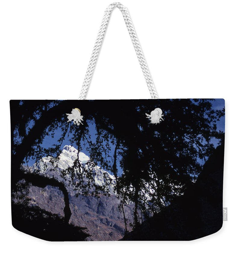Langtang Weekender Tote Bag featuring the photograph Langtang by Patrick Klauss