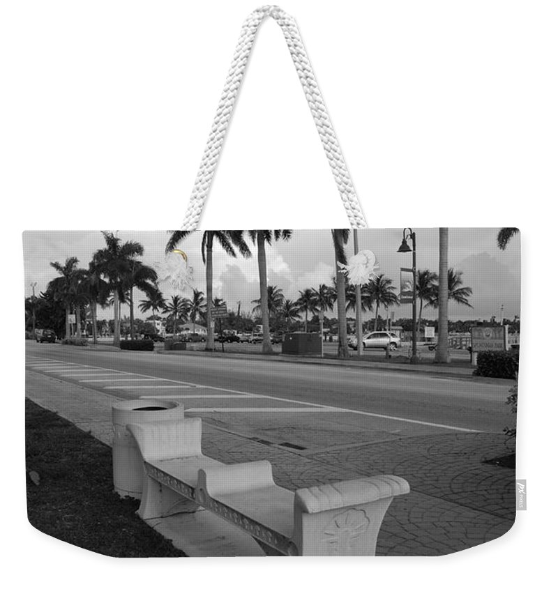 Black And White Weekender Tote Bag featuring the photograph Lantana by Rob Hans