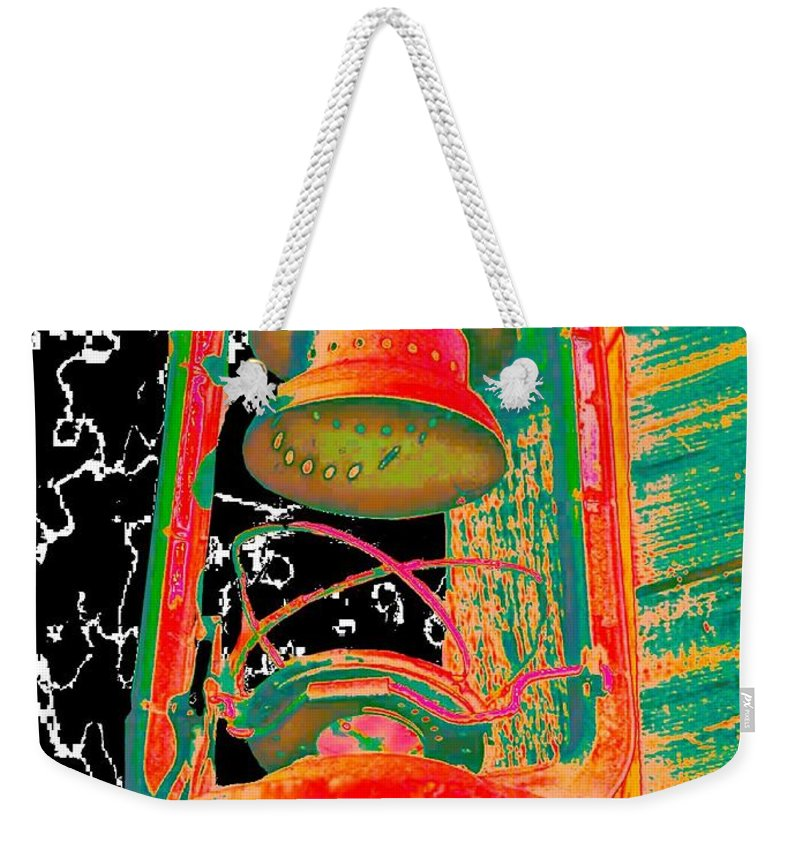 Lantern Weekender Tote Bag featuring the photograph Lantern by Tim Allen