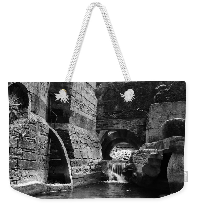 Skip Hunt Weekender Tote Bag featuring the photograph Las Pozas 1 by Skip Hunt