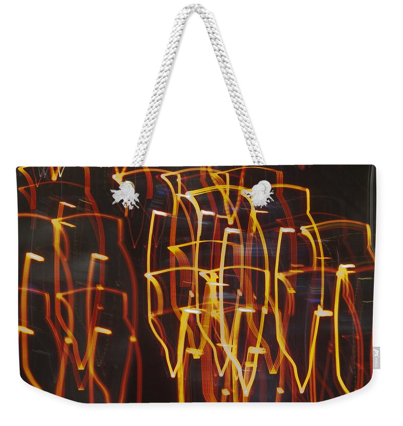 Las Vegas Weekender Tote Bag featuring the photograph Las Vegas Strip 2148 by Bob Neiman