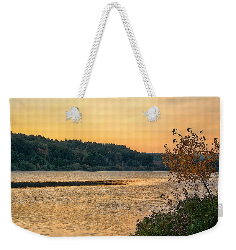 Nature Weekender Tote Bag featuring the photograph Last Day Of Summer by Mike Smale