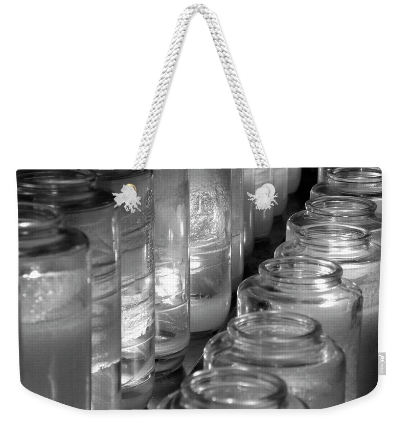 Church Weekender Tote Bag featuring the photograph Last Hopes by Shannon Turek