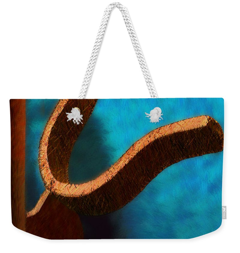Photography Weekender Tote Bag featuring the photograph Latch by Paul Wear
