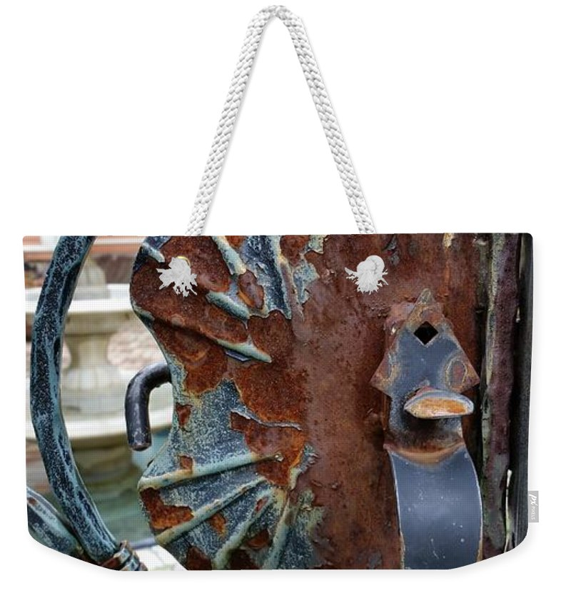 Weekender Tote Bag featuring the photograph Latch by Zac AlleyWalker Lowing