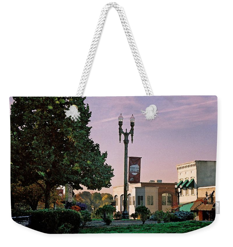 Landscape Weekender Tote Bag featuring the photograph Late Sunday Afternoon by Steve Karol