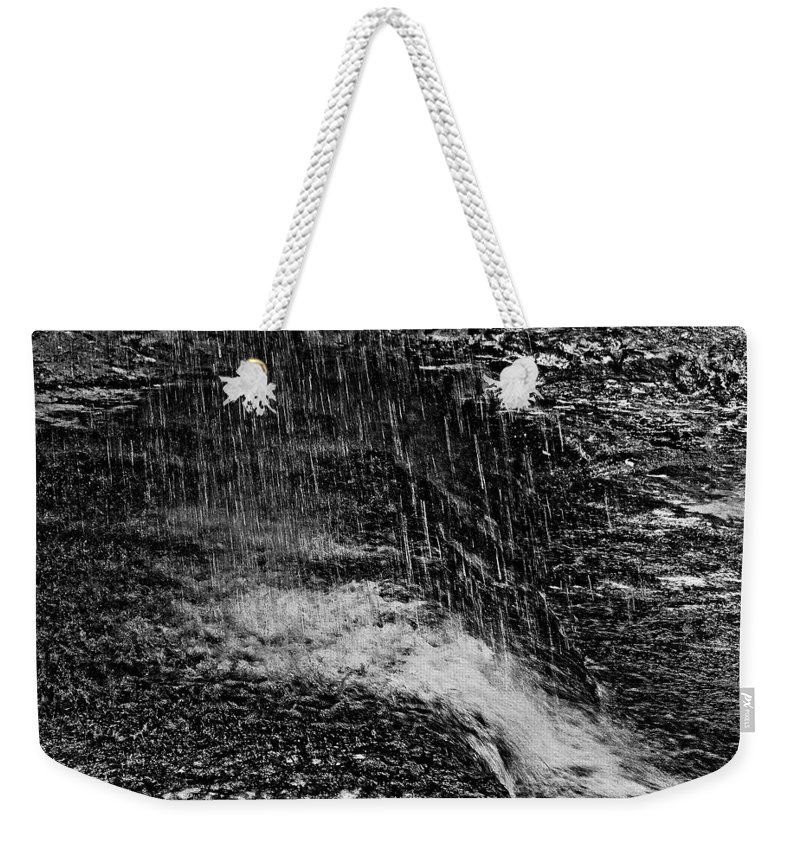 Falls Weekender Tote Bag featuring the photograph Lava Falls by Michael Bessler