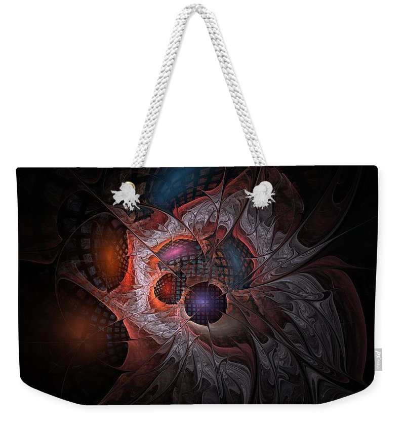 Lazarus Weekender Tote Bag featuring the digital art Lazarus Eleven by NirvanaBlues