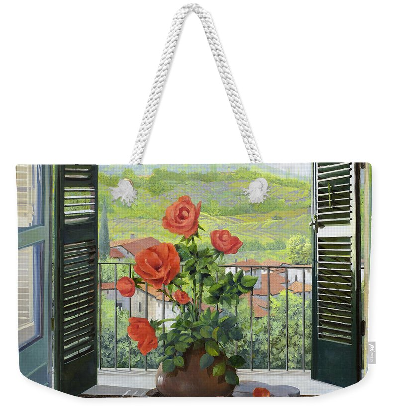 Italian Weekender Tote Bags