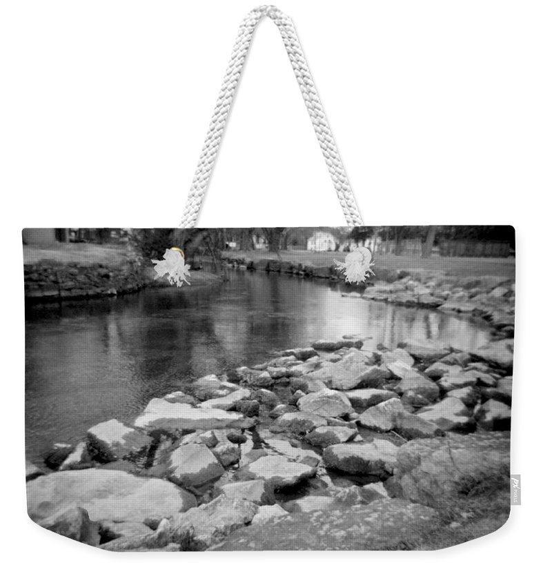 Photograph Weekender Tote Bag featuring the photograph Le Tort Spring Run by Jean Macaluso
