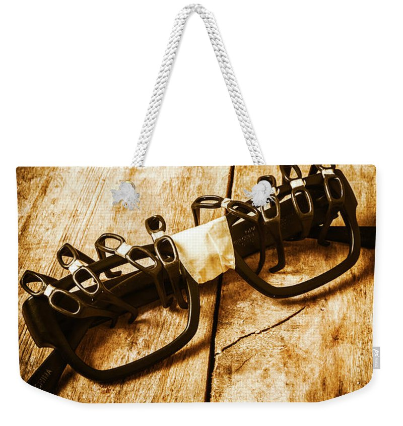 Blockchain Weekender Tote Bag featuring the photograph Leadership And Development by Jorgo Photography - Wall Art Gallery