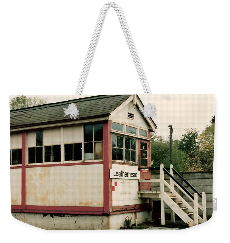 Leatherhead Weekender Tote Bag featuring the photograph Leatherhead Station by Lauri Novak