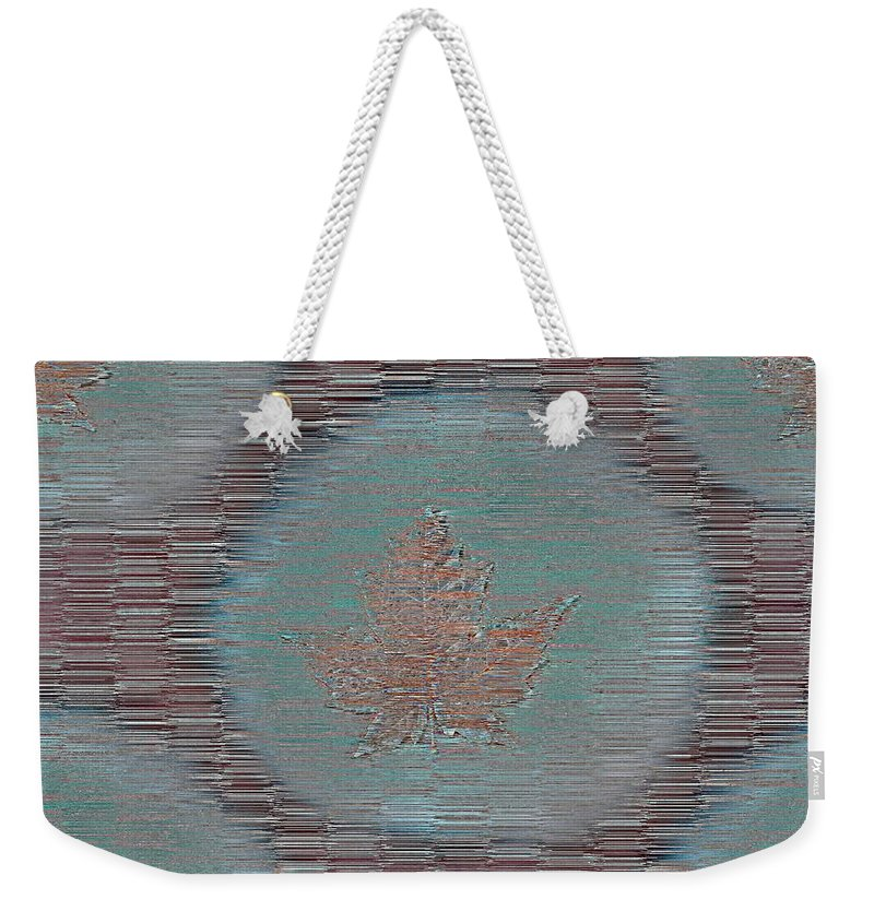 Leaves Weekender Tote Bag featuring the photograph Leaves And Rain 7 by Tim Allen