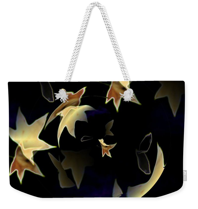 Leaves Weekender Tote Bag featuring the photograph Leaves by Tim Allen