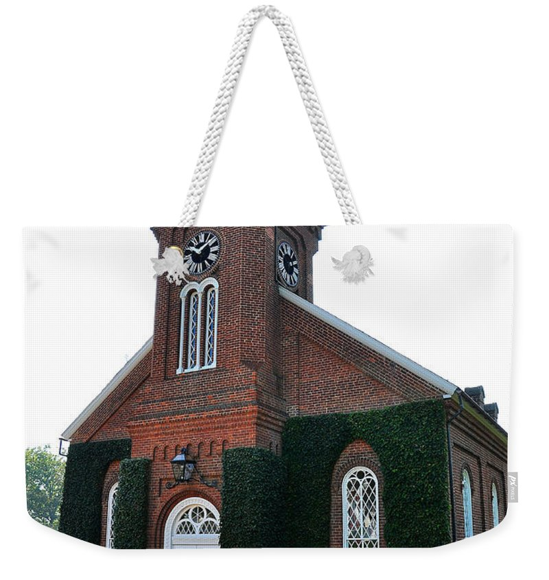 Lee Chapel Weekender Tote Bag featuring the photograph Lee Chapel by Todd Hostetter