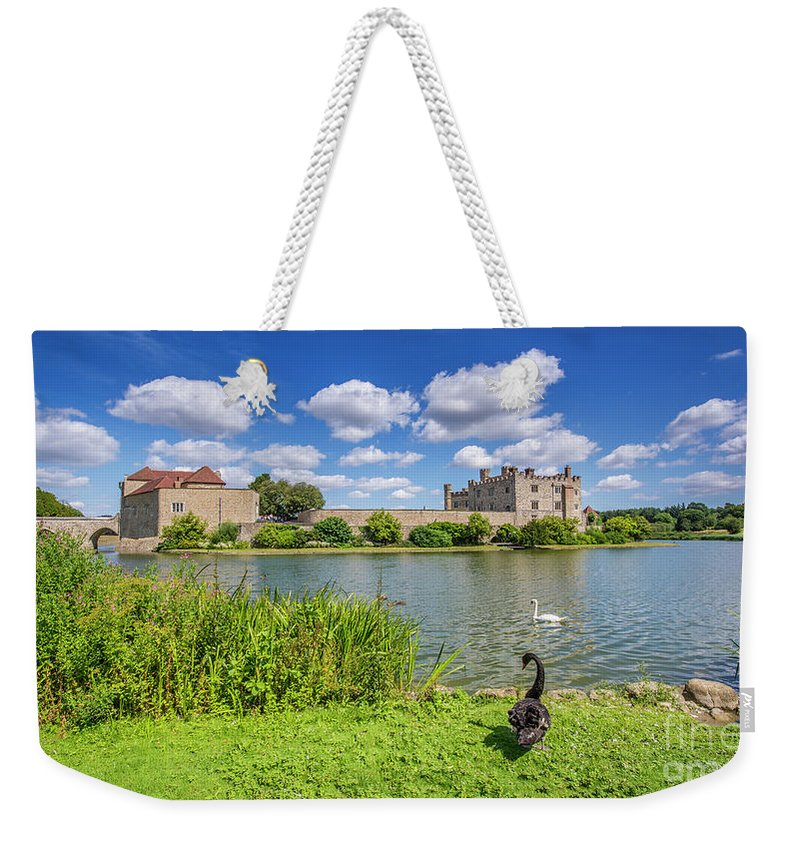 Leeds Castle Weekender Tote Bag featuring the photograph Leeds Castle Kent by Chris Thaxter