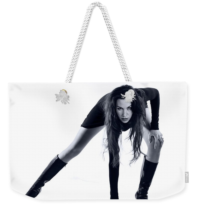 Long Legs Weekender Tote Bag featuring the photograph Legs by Scott Sawyer