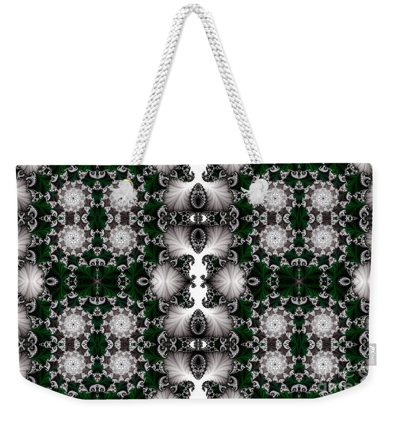 Clay Weekender Tote Bag featuring the digital art Leisure Times Four by Clayton Bruster