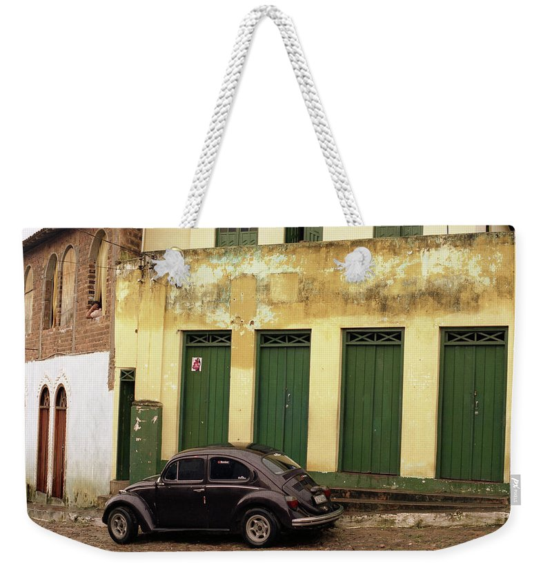 Bahia Weekender Tote Bag featuring the photograph Lencois - Bug by Patrick Klauss