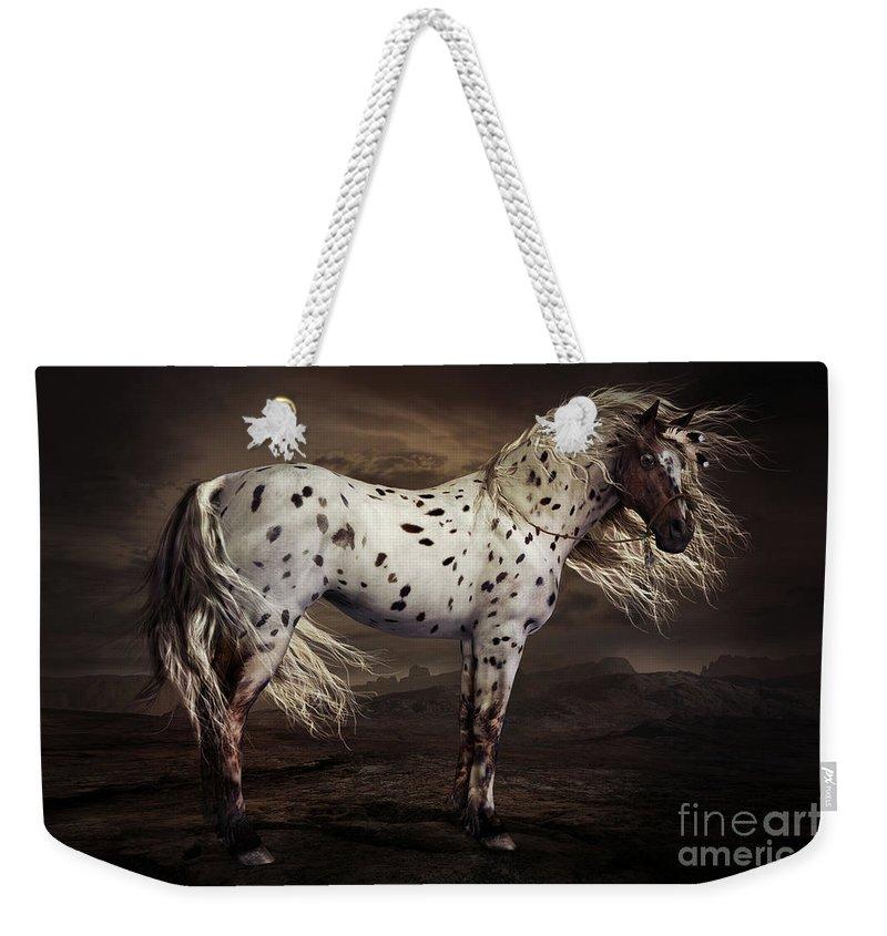Appaloosa Horse Weekender Tote Bags