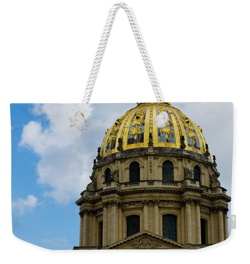 Weekender Tote Bag featuring the photograph Les Invalides by Julian Bowdern