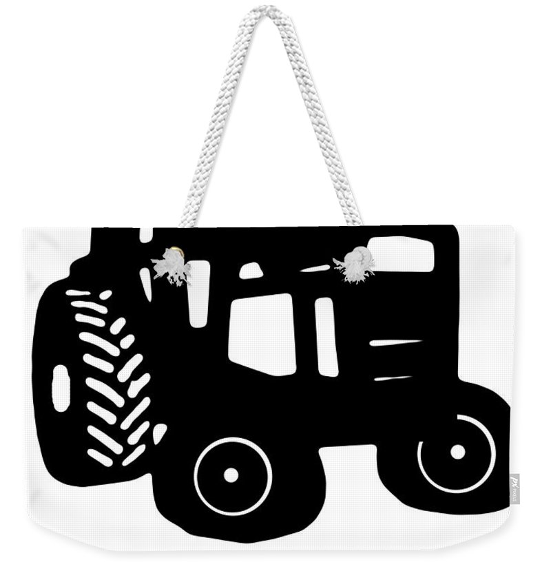 Tractor Weekender Tote Bag featuring the photograph Let's Get Dirty 2 by Edward Fielding