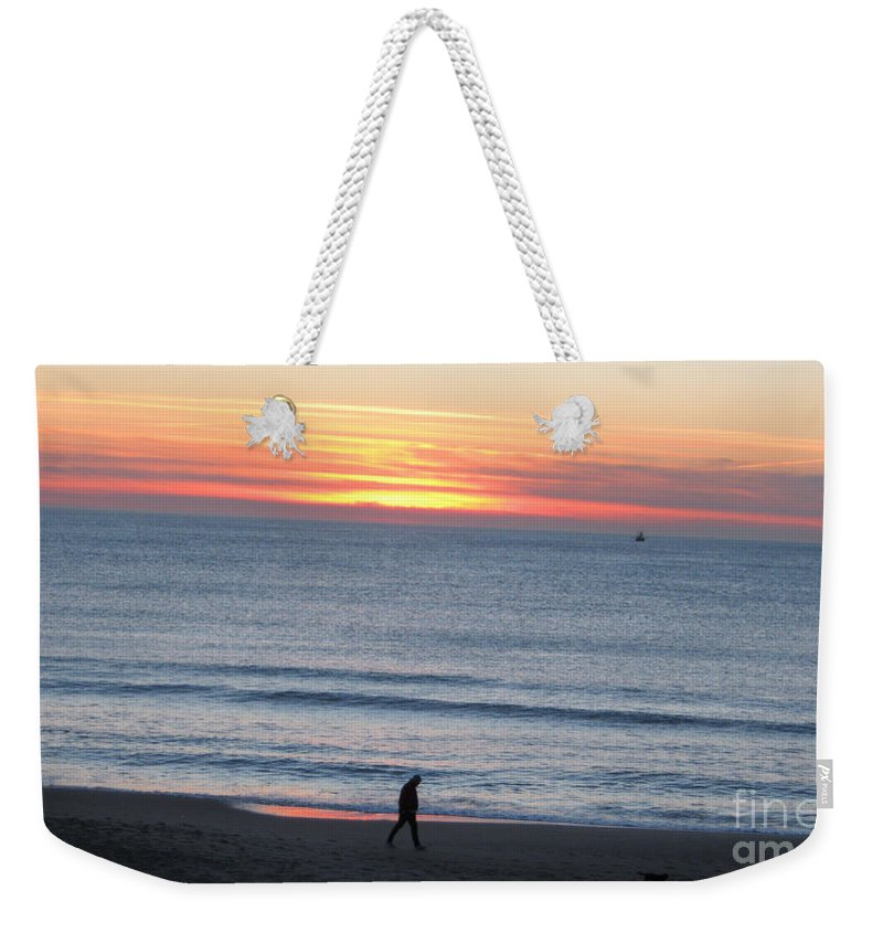 Let's Go For A Walk Weekender Tote Bag featuring the photograph Let's Go For A Walk by Heidi Sieber