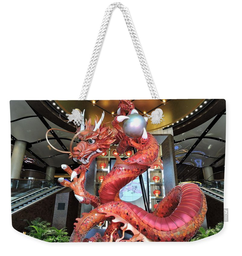 Attractions Weekender Tote Bag featuring the photograph Lets Play by Trevor Whitehead