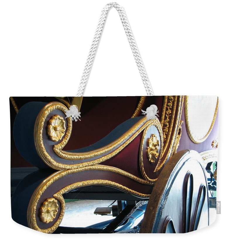 O'connell Weekender Tote Bag featuring the photograph Liberator by Kelly Mezzapelle