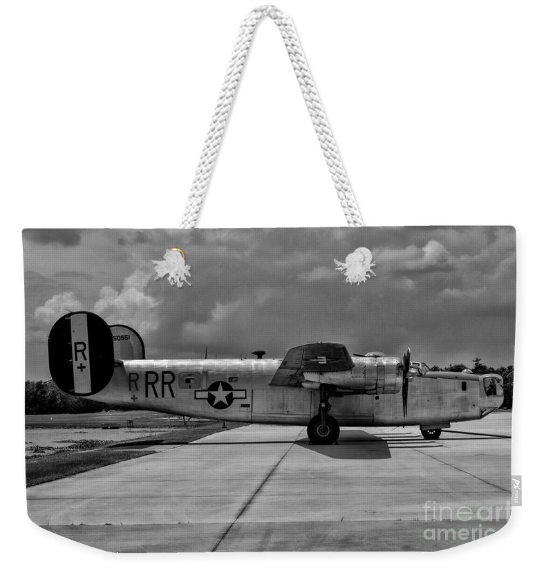 Consolidated B-24 Liberator Weekender Tote Bag featuring the photograph Liberator by Tommy Anderson